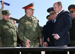 Sergey Shoigu paid a working visit to the troops of the Southern Military District