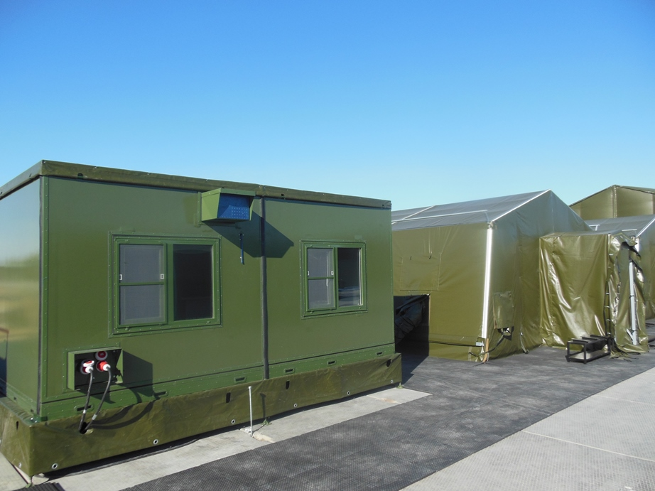A container-medical station