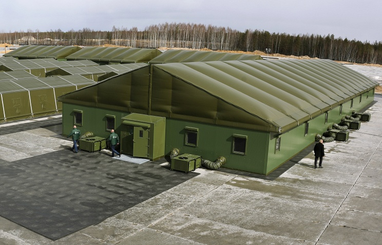 The first stand-alone field camp of Russian-made APL-500 deployed in Mulino Nizhny Novgorod region, state tests will be held in June, after which will be submitted for trial operation the troops.